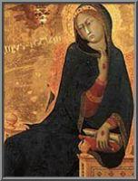 Η Αγία Αικατερίνη της Σιένα με τα στίγματά της