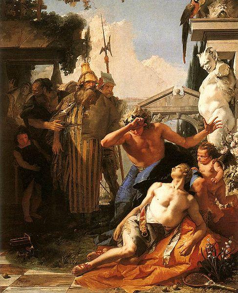 Giovanni Battista Tiepolo - The Death of Hyacinth