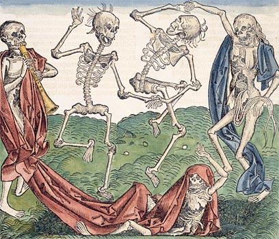 Ο Μακάβριος Χορός (Ξυλογραφία του 1493)