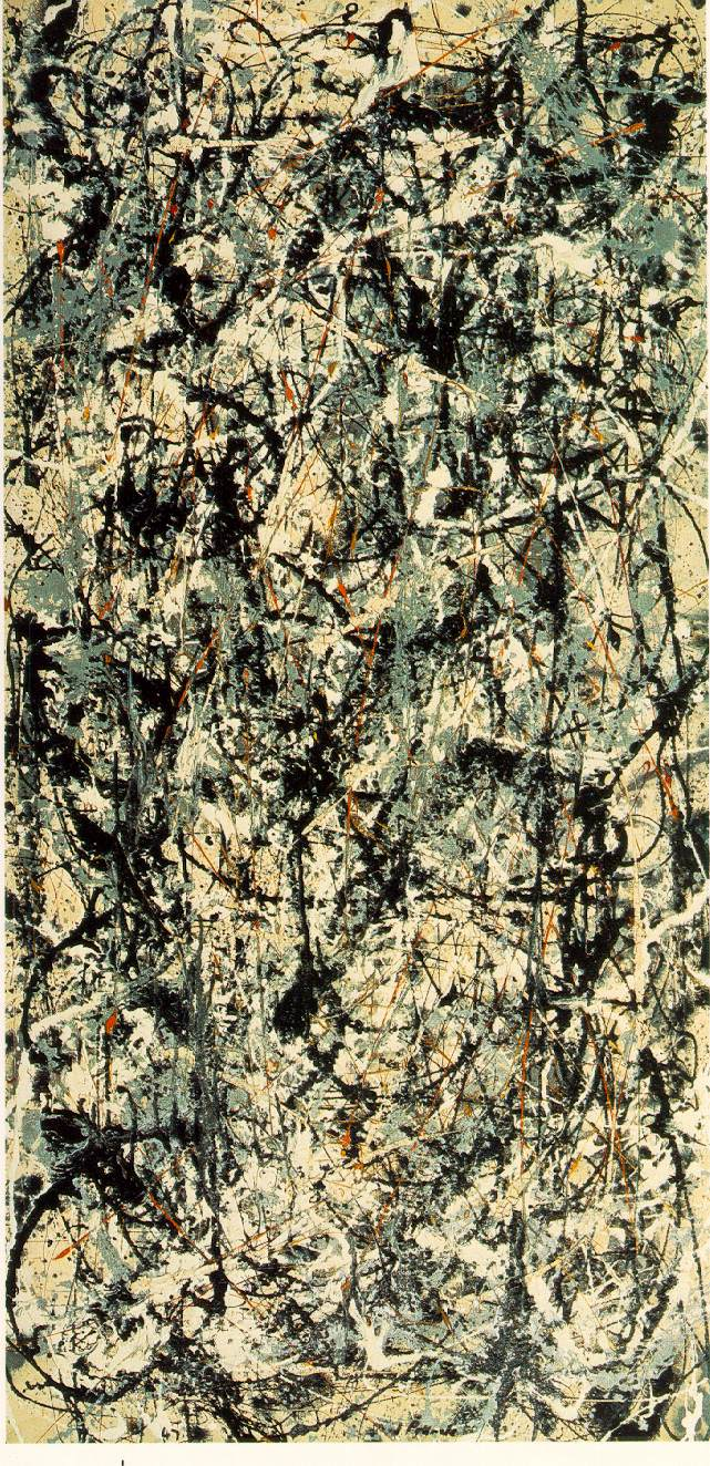 """Cathedral"" by Jackson Pollock"